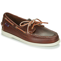 Chaussures Homme Chaussures bateau Sebago DOCKSIDES PORTLAND WAXED Marron