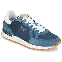 Chaussures Homme Baskets basses Pepe jeans TINKER PRO Bleu