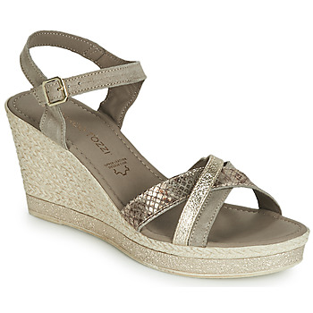 Chaussures Femme Sandales et Nu-pieds Marco Tozzi TOURILE Taupe