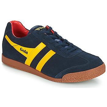 Chaussures Homme Baskets basses Gola HARRIER Bleu / jaune