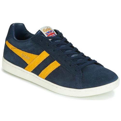 Chaussures Homme Baskets basses Gola EQUIPE SUEDE Bleu / jaune