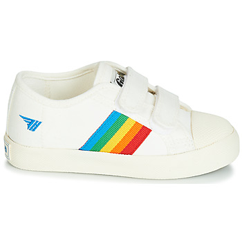 Baskets Basses enfant gola coaster rainbow velcro