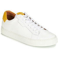Chaussures Homme Baskets basses Schmoove SPARK-CLAY Blanc / Safran