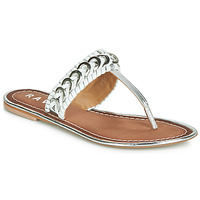 Chaussures Femme Tongs Ravel DESOTO Argent