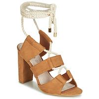 Chaussures Femme Sandales et Nu-pieds Cassis Côte d'Azur DON Marron