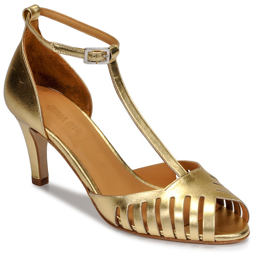 Chaussures Femme Sandales et Nu-pieds Emma Go JOELLE Doré