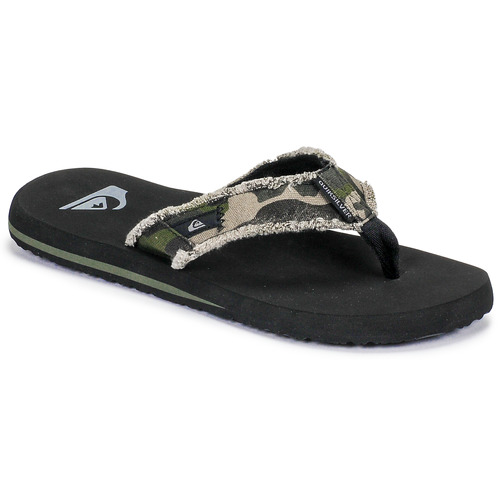 Chaussures Homme Tongs Quiksilver MONKEY ABYSS M SNDL XGCK Vert militaire