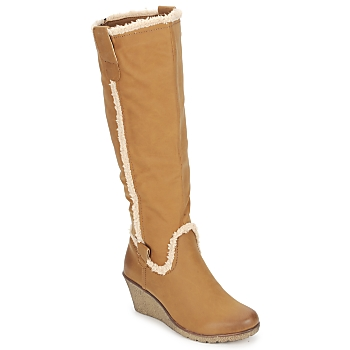 Chaussures Air max tnFemme Bottes ville StylistClick SANAA Camel