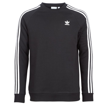 Vêtements Homme Sweats adidas Originals 3 STRIPES CREW Noir