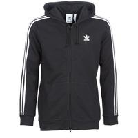 Vêtements Homme Sweats adidas Originals 3 STRIPES FZ Noir