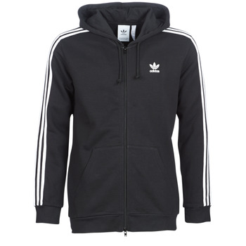 Vêtements Homme Sweats adidas Originals 3 STRIPES FZ Noir