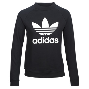 Vêtements Femme Sweats adidas Originals TRF CREW SWEAT Noir