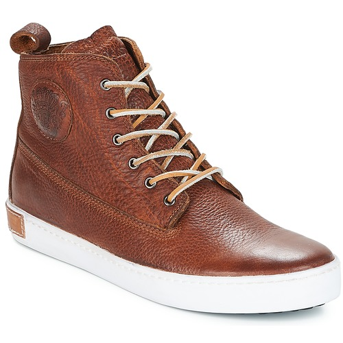 Chaussures Homme Baskets montantes Blackstone INCH WORKER Marron