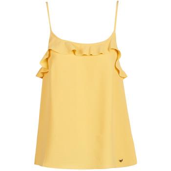 Vêtements Femme Débardeurs / T-shirts sans manche Les Petites Bombes AZITAFE Jaune