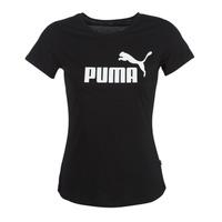 Vêtements Femme T-shirts manches courtes Puma PERMA ESS TEE Noir