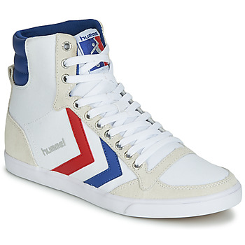 Basket montante Hummel TEN STAR HIGH CANVAS Blanc