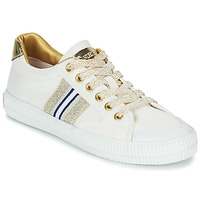 Chaussures Femme Baskets basses Replay EXTRA Blanc / Doré