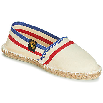 Chaussures Espadrilles Art of Soule RAYETTE Beige / Bleu / Rouge