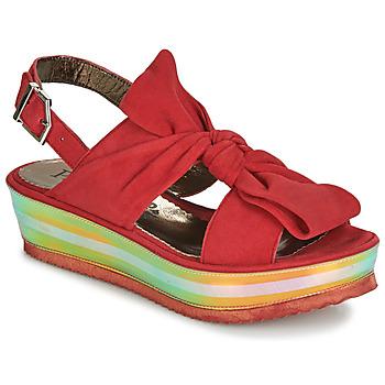 Chaussures Femme Sandales et Nu-pieds Papucei CONDE Rouge