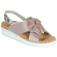 Chaussures Femme Sandales et Nu-pieds Romika HOLLYWOOD 08 Rose / Argent