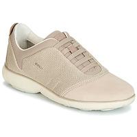 Chaussures Femme Baskets basses Geox D NEBULA Beige / Crème