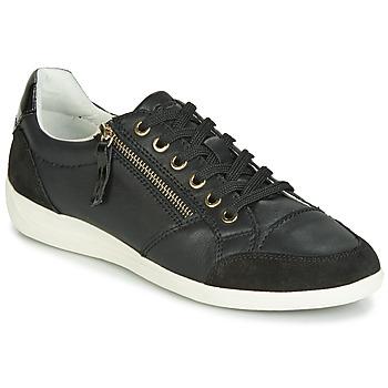 Chaussures Femme Baskets basses Geox D MYRIA Noir