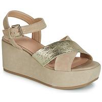 Chaussures Femme Sandales et Nu-pieds Geox D ZERFIE Doré / Taupe