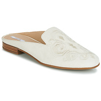 Chaussures Femme Mules Geox D MARLYNA Blanc / Brodé
