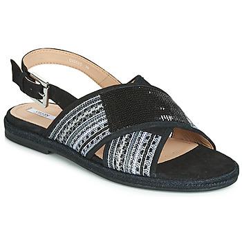 Chaussures Femme Sandales et Nu-pieds Geox D KOLEEN Noir