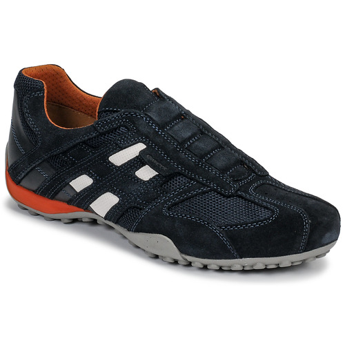 Chaussures Homme Baskets basses Geox UOMO SNAKE Bleu / Noir