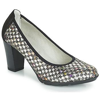 Chaussures Femme Escarpins Dorking 7736 Gris / Noir