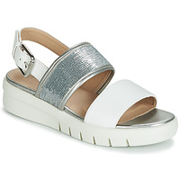 Chaussures Femme Sandales et Nu-pieds Geox WIMBLEY SAND White
