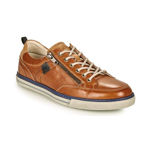Chaussures Homme Baskets basses Fluchos QUEBEC Marron