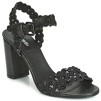 Chaussures Femme Sandales et Nu-pieds Mimmu 567Z14 Noir