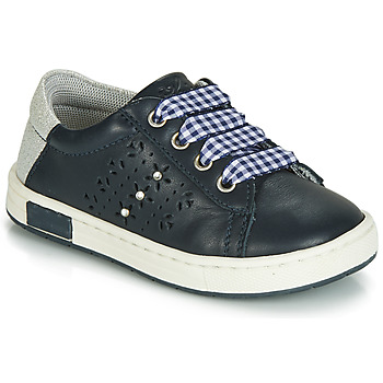 Chaussures Fille Baskets basses Chicco CLARETTA Marine / Vichy