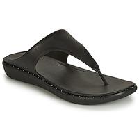 Chaussures Femme Tongs FitFlop BANDA II Noir