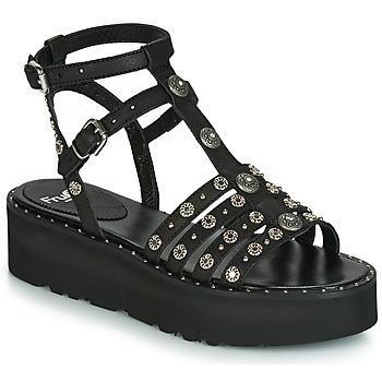Chaussures Femme Sandales et Nu-pieds Now 5433-476 Noir / Clou