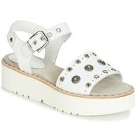 Chaussures Femme Sandales et Nu-pieds Now 5435-476 Blanc