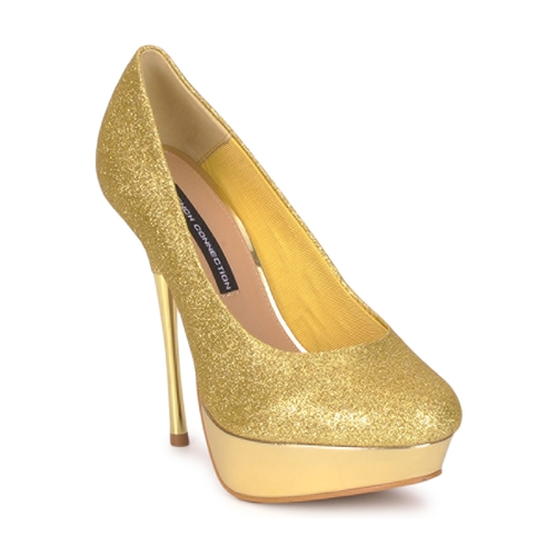 Chaussures Femme Escarpins French Connection JEZABEL Gold