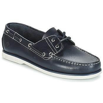 Chaussures Homme Chaussures bateau Lumberjack NAVIGATOR Marine