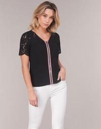 Vêtements Femme Tops / Blouses Morgan OSALI Noir