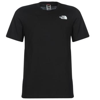 Vêtements Homme T-shirts manches courtes The North Face MEN'S S/S REDBOX TEE Noir