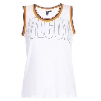Vêtements Femme Débardeurs / T-shirts sans manche Volcom IVOL TANK Blanc