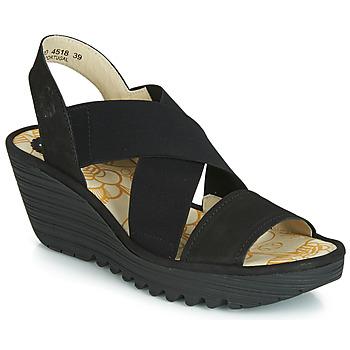 Chaussures Femme Escarpins Fly London YAJI Noir