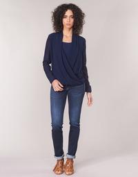 Vêtements Femme Jeans droit Le Temps des Cerises PULP REGULAR Bleu
