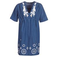 Vêtements Femme Robes courtes Desigual ELECTRA Marine