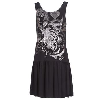 Vêtements Femme Robes courtes Desigual OMAHAS Noir