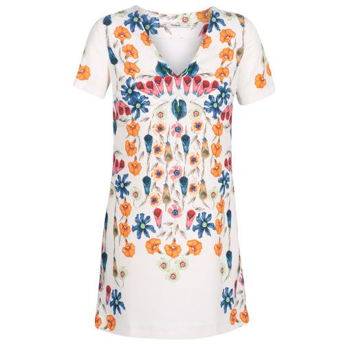 Vêtements Femme Robes courtes Desigual CORK Blanc