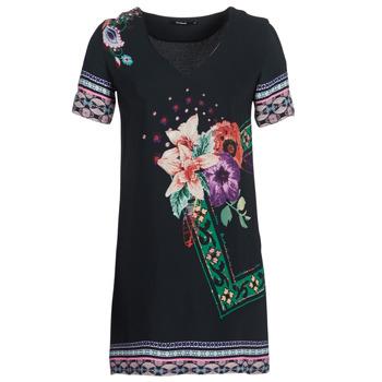 Vêtements Femme Robes courtes Desigual BARTA Noir