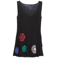 Vêtements Femme Débardeurs / T-shirts sans manche Desigual MELISA Noir